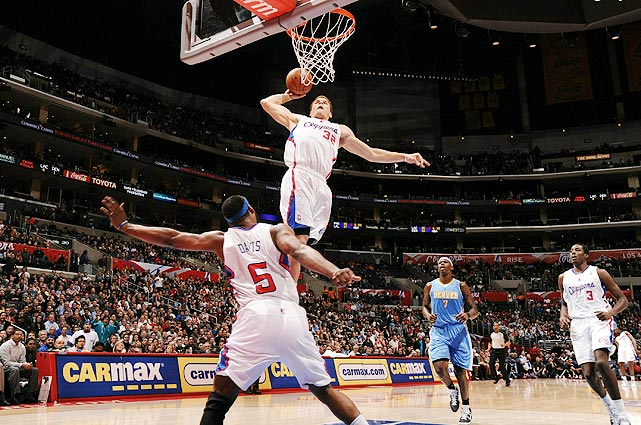 Though it's still early in the 2010-11 NBA season, we've already seen our fair share of rim-rattling dunks.   It's been a young man's game thus far, led by dunking sensation Blake Griffin and other athletic wunderkinds such as Rudy Gay and J.R. Smith.    As the season progresses, you'll find all the best dunks right here.  We apologize in advance to those who will be posterized.