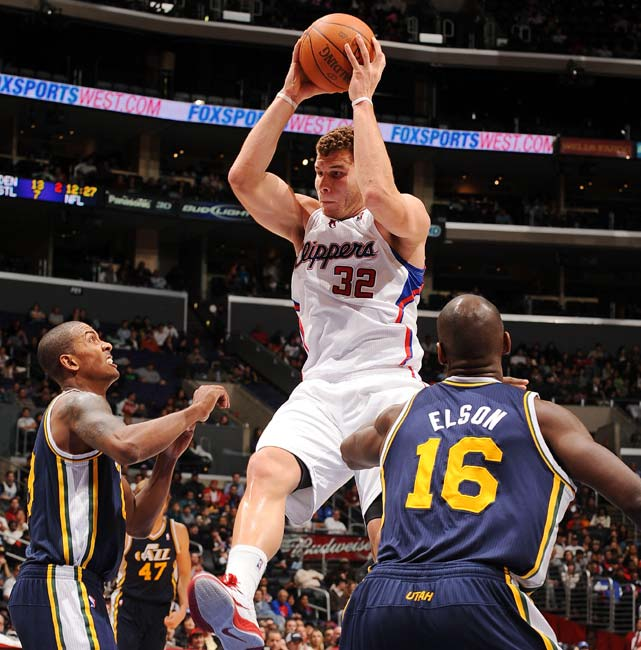 Griffin wasted little time establishing himself as one of the NBA's top big men in his rookie season. His reckless abandon on the floor makes him a beast in the post, and the combination of his vertical and strength make him a tenacious rebounder.