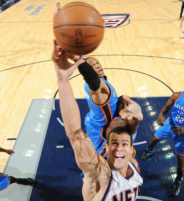 In a breakout season, Humphries ranked second in rebounding percentage (22.1).