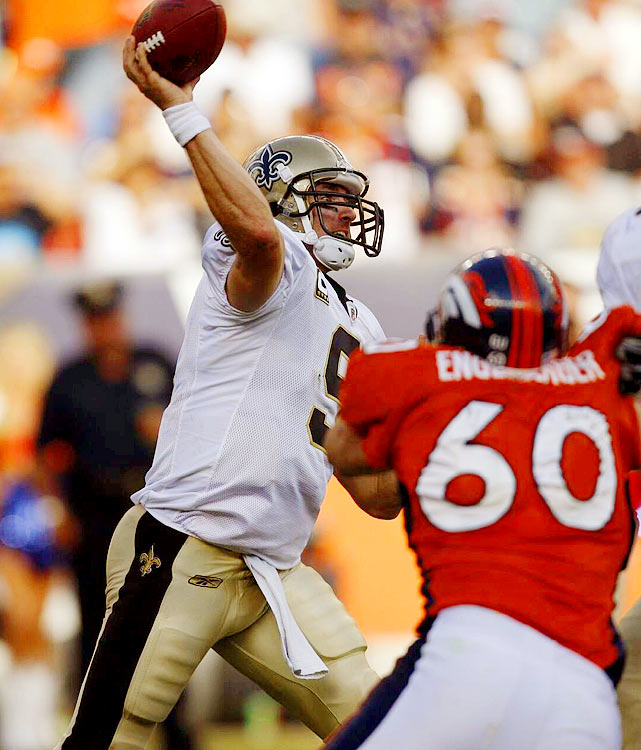 Drew Brees, SI's Sportsman of the Year, has had quite a prolific NFL career. Here's a look at some of the highlights in numbers, beginning with his 5.069 passing yards in 2008, which made him only the second NFL quarterback, after Dan Marino, to throw for over 5,000 yards in a single season. That same year, he also threw a career-high 34 touchdowns passes.