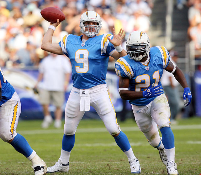10 -- Number of years Brees has been in the NFL. Before landing with the Saints, Brees played five seasons with the San Diego Chargers.