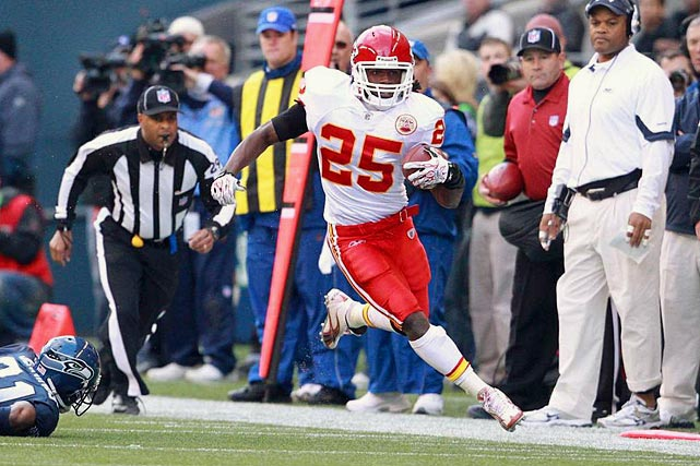 1,137 rushing yards and three TDs 34 receptions for 379 yards and one TD    Stat totals from Weeks 1-13