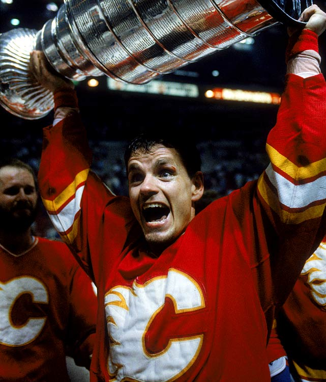 The notable Flames forward of the 1980s made you think of greasy speed or the kind of nasty chest cold you get from hanging around rinks.
