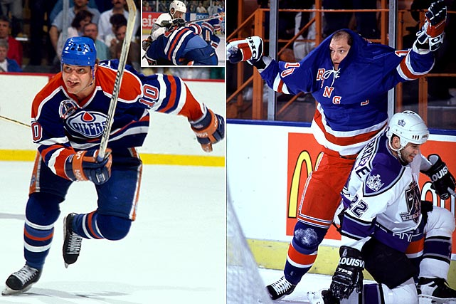 "The Finnish pest wielded his stick like a demented  surgeon – he once provoked the ordinarily unflappable Wayne Gretzky to hit him  in the head -- while babbling in an incomprehensible tongue known as ""Tikkanese.""  While playing for the Oilers one night, Tikkanen was jawing at linemate Jimmy  Carson and he kept ranting after they returned to the bench. Carson asked their other  linemate, Finnish winger Jari Kurri, what Tikkanen was saying. Kurri listened  and said, ""I have no idea."" In one of Tikkanen's clearer moments, he stated, ""We need to play like a team, right  now we're just playing with  ourselves."""
