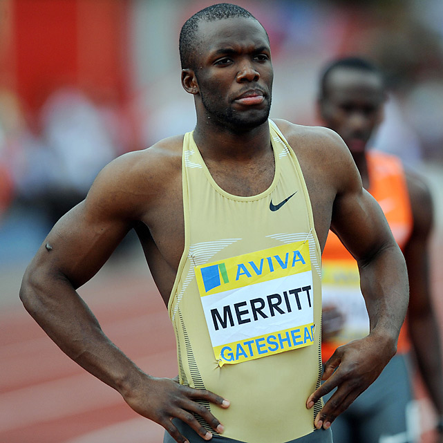 Drug tests re-entered track and field news when LaShawn Merritt, the reigning Olympic and world champion in the 400 meters, tested positive for a banned steroid he claimed came from the male enhancement product ExtenZe. Merritt was suspended 21 months, backdated to October 2009 and expiring in July 2011. His status for the 2012 Olympics is in question due to an IOC rule potentially preventing athletes who serve suspensions of six months or more from competing in the following Olympic Games.