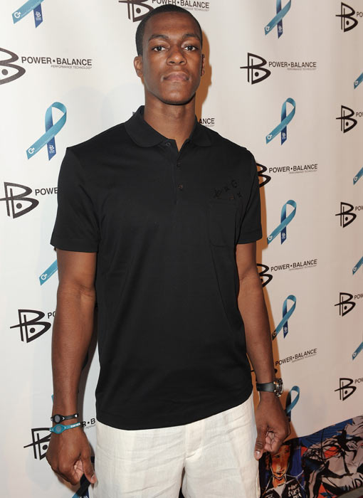 "Rondo spends an August night away from the court, attending Power Balance Goes ""All-In For A Cure"" at Drai's Hollywood."