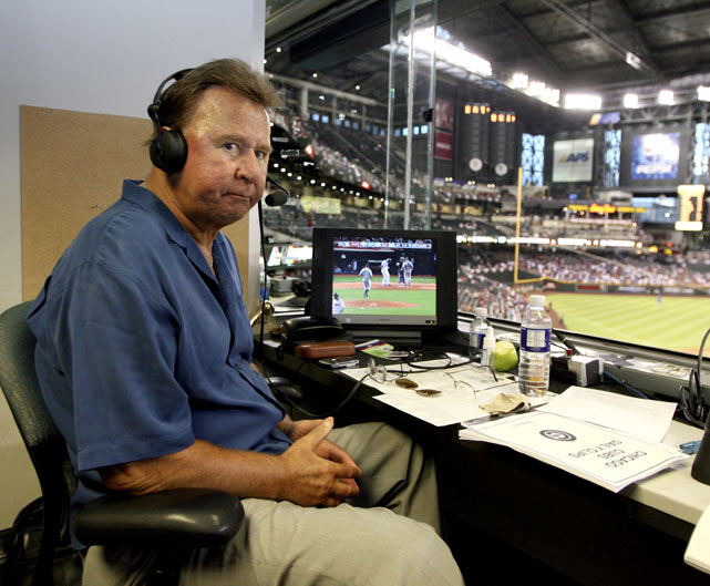 Santo was the Cubs' radio color commentator from 1990-2010.