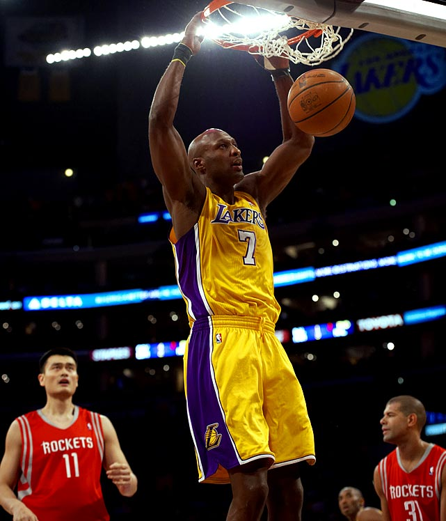 The ultimate complimentary piece, Odom has translated his all-around game into two NBA championships with the Lakers.  But he is arguably more famous for his marriage to a Kardashian than for his on-court contributions.  It's Odom's ability to defer and sometimes blend into the background however that make him so valuable to the Lakers.