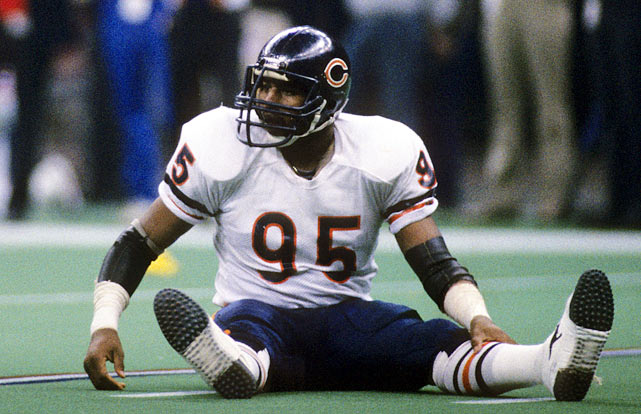 Richard Dent was a dominant pass-rushing defensive end for the Chicago Bears and four other teams between 1983-97. He led the league with 17 sacks during the Bears 15-1 season in 1985. His 3 1/2 sacks against the New York Giants in the division playoffs sparked his dominant postseason performance, as he was later named Super Bowl XX MVP. Dent finished his career with 137.5 career sacks and is the all-time sacks leader in Bears history with 124.5.