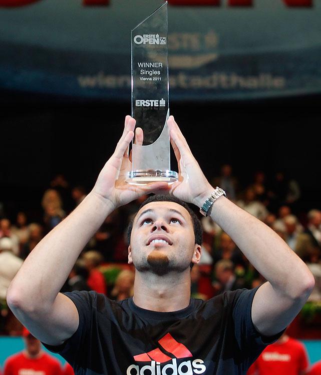 def. Juan Martin del Potro 6-7 (5), 6-3, 6-4 ATP World Tour 250, Hard (Indoor), $575,250 Vienna, Austria