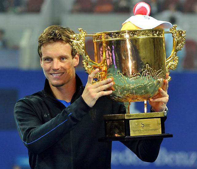 def. Marin Cilic 3-6, 6-4, 6-1 ATP World Tour 500, Hard, $2,100,000 Beijing