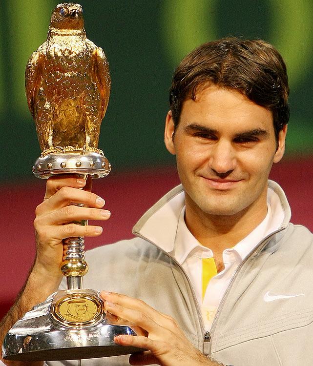 def. Nikolay Davydenko, 6-3, 6-4 ATP World Tour 250, Hard, $1,024,000 Doha, Qatar