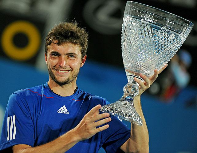 def. Victor Troicki , 7-5, 7-6(4) ATP World Tour 250, Hard, $372,500 Sydney