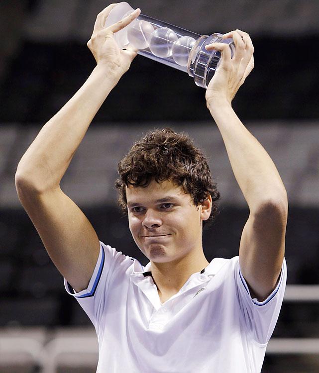 def. Fernando Verdasco, 7-6 (6), 7-6 (5) ATP World Tour 250, Hard (Indoor), $531,000 San Jose, Calif.