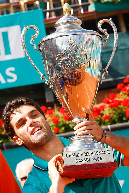 def. Potito Starace, 6-1, 6-2 ATP World Tour 250, Clay, €398,250 Casablanca, Morocco