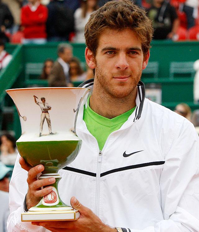 def. Fernando Verdasco, 6-2, 6-2 ATP World Tour 250, Clay, €398,250 Estoril, Portugal