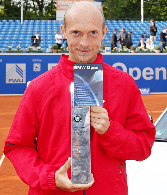 def. Florian Mayer, 6-3, 3-6, 6-1 ATP World Tour 250, Clay, €398,250 Munich, Germany