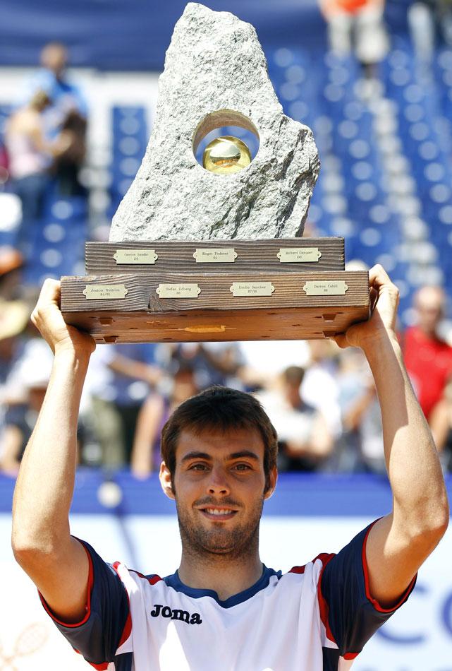 def. Fernando Verdasco, 6-4, 3-6, 6-3 ATP World Tour 250, Clay, €398,250 Gstaad, Switzerland