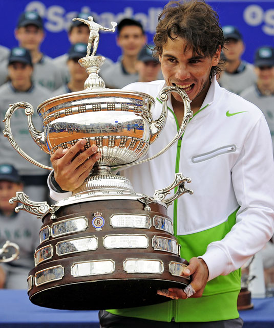 def. David Ferrer, 6-2, 6-4 ATP World Tour 500, Clay, €1,550,000  Barcelona, Spain