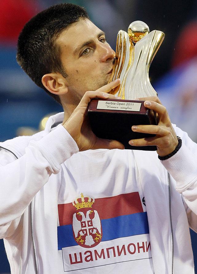 def. Feliciano Lopez, 7-6(4), 6-2 ATP World Tour 500, Clay, €373,200 Belgrade, Serbia