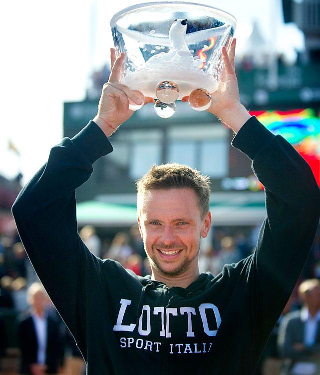 def. David Ferrer, 6-2, 6-2 ATP World Tour 250, Clay, €398,250 Bastad, Sweden