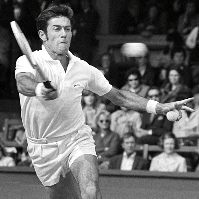 In 1953, 18-year-old Ken Rosewall became the youngest Australian Open champion. In 1972, 37-year-old Rosewall became the oldest Australian Open champion. He defeated Malcolm Anderson 7-6 (2), 6-3, 7-5 in an all-Aussie final. It was Rosewall's eighth and final Grand Slam title, though he did reach the Wimbledon final in 1974, a few months shy of 40.