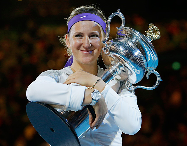 Here's a look at the Australian Open champions since the Open Era began in 1969, starting with Azarenka, who defeated Li Na 4-6, 6-4, 6-3 to win her second straight Australian Open title.
