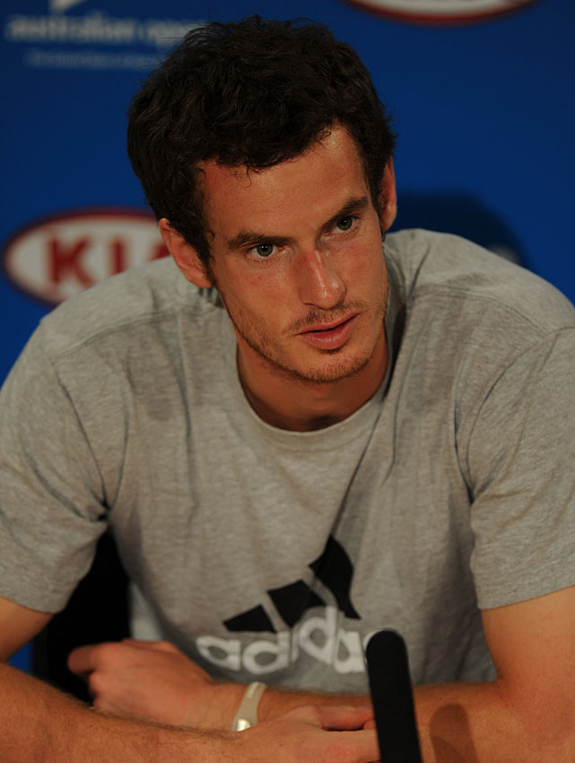 """I think now, because of the depth in the game and because you have to win seven matches against, you know, always different players, a different day. You turn up and play a bad match, because of depth you can lose. To me, I think if you hold all four Grand Slams, it's one of the best achievements in sport. And I really hope he doesn't do it.""   Watch Murray's press conference  here ."