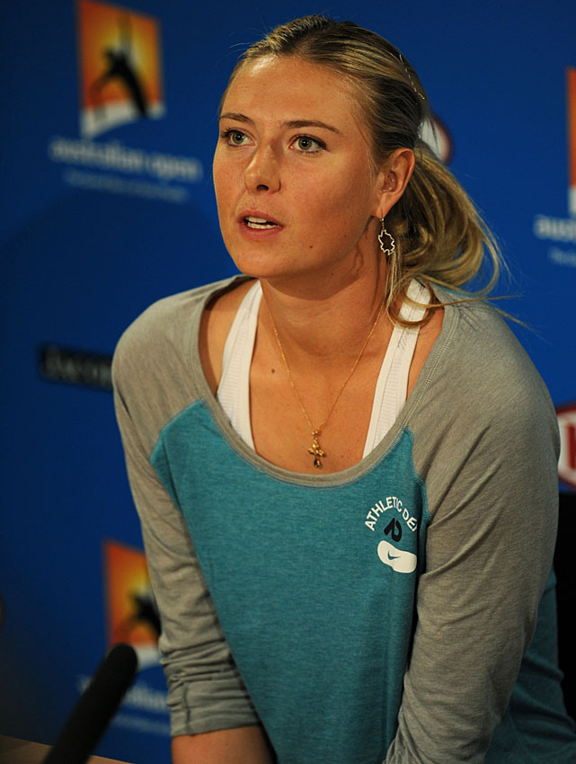 """I didn't know if I would ever be back. That was a challenge in itself, just to try to get myself back to playing the sport again. To be honest, on the way back, I never really thought about ranking 'cause every time I stepped on the court when I had an expectation of when I would be back, I would never reach that goal. For me, it was just about going out there.""   Watch Sharapova's press conference  here ."