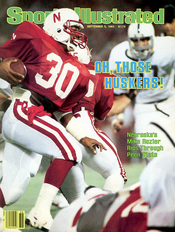 Rozier ran 25 times for 147 yards, but sprained his ankle in the third quarter and was lost for the rest of the game as the Cornhuskers lost 31-30 to Miami in the Orange Bowl.