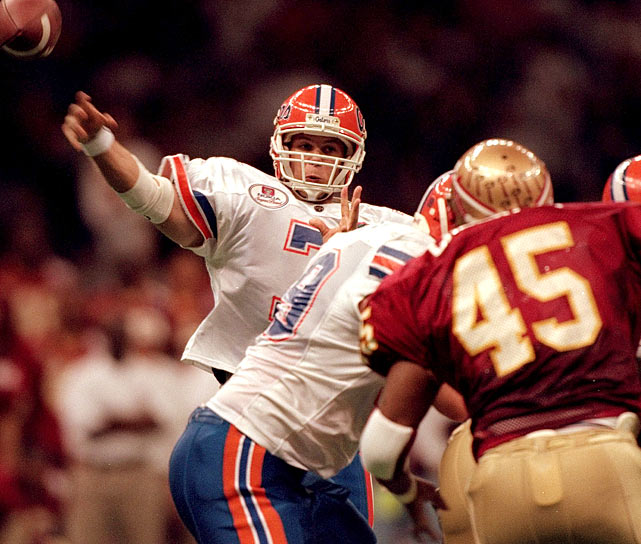 Wuerffel threw for 306 yards and three touchdowns and ran for a TD as the Gators defeated Florida State 52-20 in the Sugar Bowl.