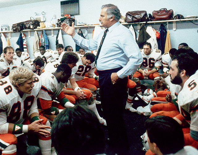 """The USFL had a short tenure from 1983 to `87. Then University of Miami head football coach Howard Schnellenberger was set to coach the Miami Federals in 1987 before the league announced it would switch its spring schedule to the fall to compete with the NFL. Schnellenberger rescinded his decision, claiming, """"""""I have concluded my coaching future is not in the USFL. My future is in football."""""""