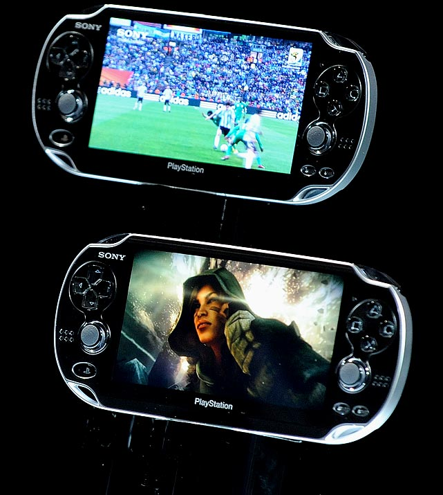 Nintendo is not the only company planning a handheld splash. Sony recently announced the sequel to the Playstation Portable (PSP) as codename Next Generation Portable (NGP).  The NGP will sport a 5-inch OLED touch screen with 16:9 960x544 resolution. The device has two thumbsticks and a rear touch screen that Sony hopes will add a new layer to gaming possibilities.  The NGP will be backwards compatible with downloadable PSP games (via the PlayStation Network), but PSP games on UMD media will not work with it. The native media format for the NGO will be flash memory.  Sony plans to offer different versions of the device, including a 3G version. All versions will use WiFi and GPS. No official release date or pricing has been announced, but Sony says it will cost less than $599. We're hoping a lot less.