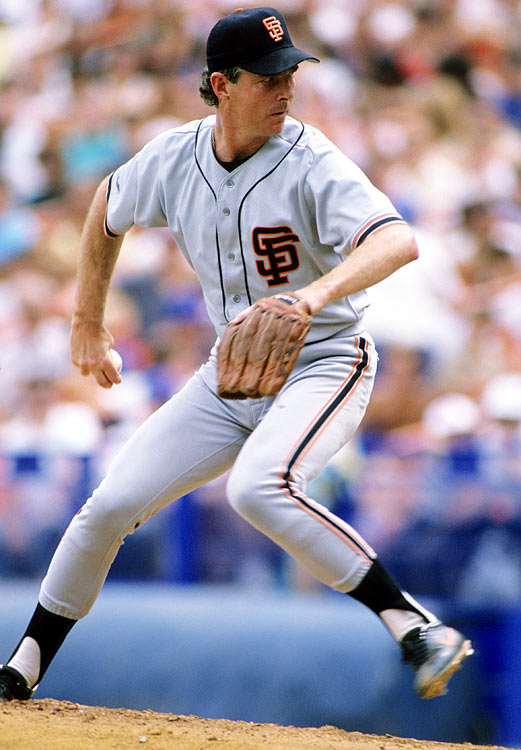 The Giants broadcaster received one Hall of Fame vote in 1995. He won 20 games with San Francisco in 1986 with a 3.05 ERA.
