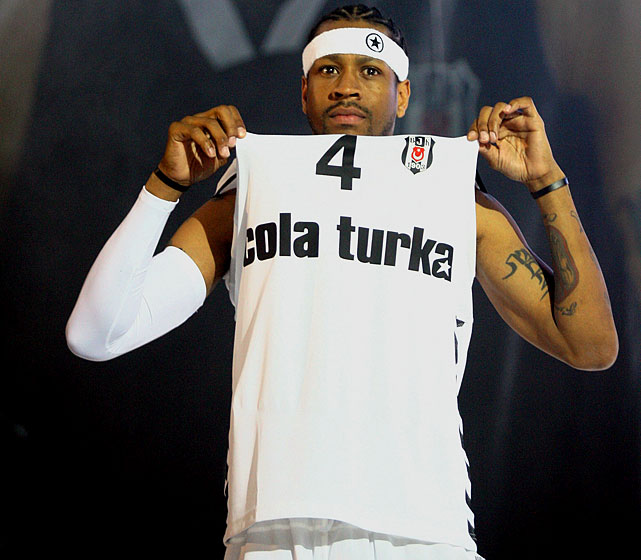 One of the greatest scorers in NBA history took his talents overseas after NBA teams refused to take him in. Iverson signed a two-year, $4 million deal with Besiktas in Turkey, where he was greeted by mobs of adoring fans the minute he arrived on the scene. He later suffered a lesion on his right leg and returned home for exams and surgery.