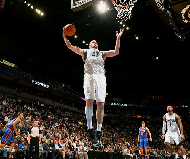 Love had always been able to rebound. But in a 112-103 win over the Knicks, the Timberwolves' big man proved just how good he is at grabbing boards. The 6-10 Love pulled down a franchise-record 31 rebounds and scored 31 points against New York on Nov. 12, becoming the first player to have a 30-30 game since Moses Malone on Feb. 11, 1982, when he torched Seattle with 38 points and 32 rebounds.