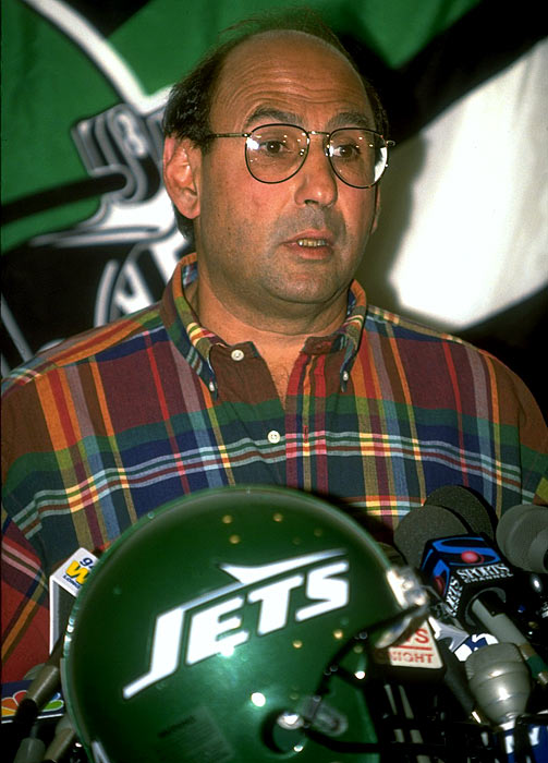 Kotite got burned by the notion of speaking too soon. In 1992-93, he led the Eagles to consecutive double-digit-win seasons and then started '94 with a 7-2 record. It was then that Kotite revealed he'd be exploring his coaching options at the end of the season ... which perilously ended with seven straight defeats. Owner Jeffrey Lurie dismissed Kotite soon thereafter, enabling him to take over the porous Jets. Much to owner Leon Hess's chagrin, Kotite helmed the Jets to four total victories in 1995-96 -- his only two seasons in the Big Apple. The good news from this disaster: The Jets hired Bill Parcells in 1997, who eventually made winners out of Keyshawn Johnson, Wayne Chrebet and Vinny Testaverde.