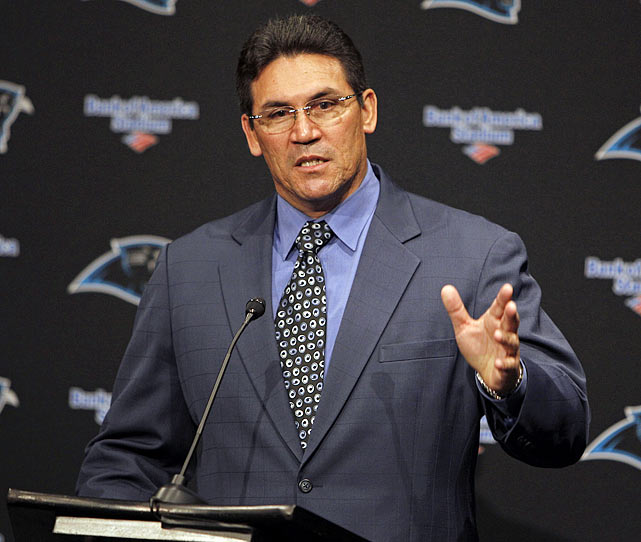 Rivera took a team ranked 16th in total defense and 31st in passing defense in 2009 to first place in both categories this past season. He will now look to implement a winning philosophy as the new head coach of the Carolina Panthers, owners of a league worst 2-14 record in 2010.  The first-time head coach will get the turnaround started with the first overall selection in the upcoming draft.