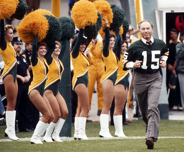 After four Pro Bowl selections and 152 career touchdowns, Bart Starr was elected into the Pro Football Hall of Fame in 1977.