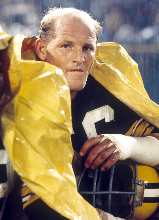 Linebacker Ray Nitschke's 66 is one of only five numbers retired by the Packers.