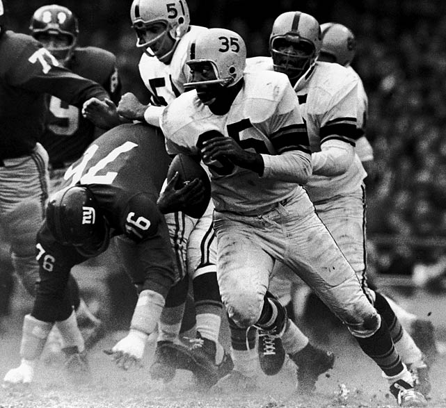 John Henry Johnson, who was with the Steelers from 1960 to '65, ranks fourth on the team's alltime rushing list, trailing only Franco Harris, Jerome Bettis and Willie Parker. He was inducted into the Hall of Fame in 1987.