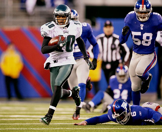 "Sometimes, the X-factor is the obvious one. The Eagles have big-time weapons all over the field, including Michael Vick, LeSean McCoy and Jeremy Maclin. But just ask the Giants ... or ask anyone who has held their breath whenever the ball winds up in Jackson's hands. He's a bolt of lightning. Sure, he can hurt his own team with celebration antics or other bad moments, but that's all part of the ""X-factor."" You won't know exactly how he will affect the game, or if it will be in a good way or a bad way. But Jackson definitely will have an impact."
