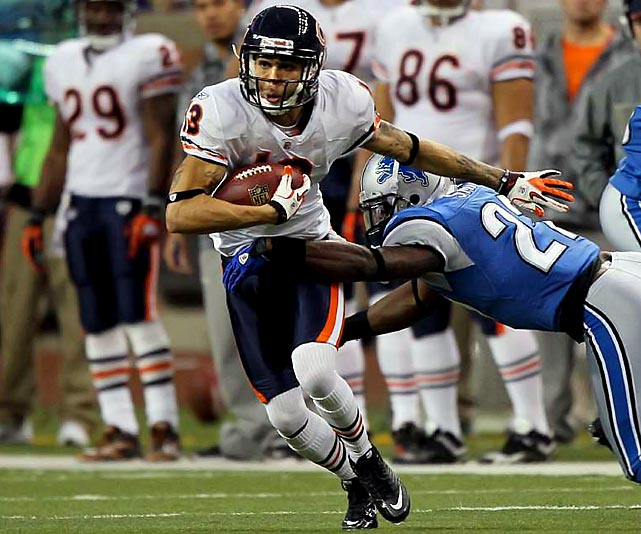 Matt Forte will be key and Jay Cutler will operate the controls. But when Johnny Knox stretches the field and/or shortens it with a kick return, the Bears win. A fifth-round pick out of Abilene Christian, Knox has been quite the find. In the playoffs, when one big play can often be all a team needs to break a game open, Knox can offer exactly that.