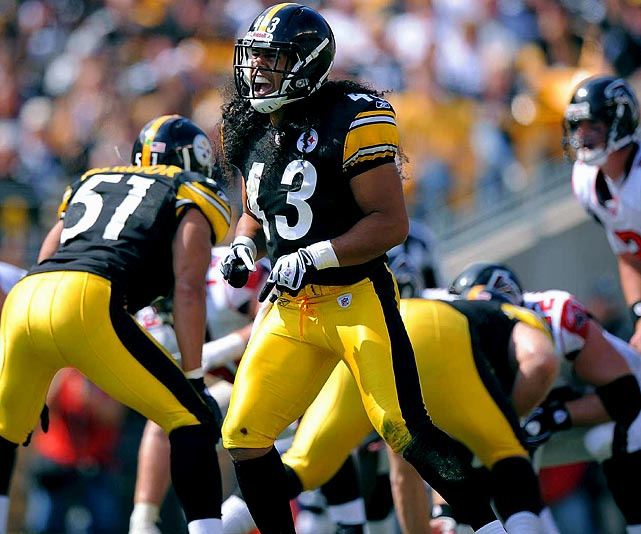 "This may not be the most creative pick as an, ""X-factor,"" but any other would be a reach. And a lie. When Polamalu is right and healthy and on the field, the Steelers are a dominant team. Simple as that. He stuffs the run, covers the pass, is an inspirational leader and if the ball hits the dirt, or is batted into the air, somehow it always finds a way into his arms."