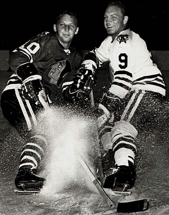 "Though Bobby, the ""Golden Jet"", was more famous and a Hall of Famer, Dennis was no slouch. He had a ferocious slap shot like his older brother and scored 30-plus goals four times during their eight seasons together in Chicago, including his career high of 40 in 1970-71 when they helped power the Blackhawks to the Stanley Cup Final, where they fell to Montreal and the Mahovlich brothers."