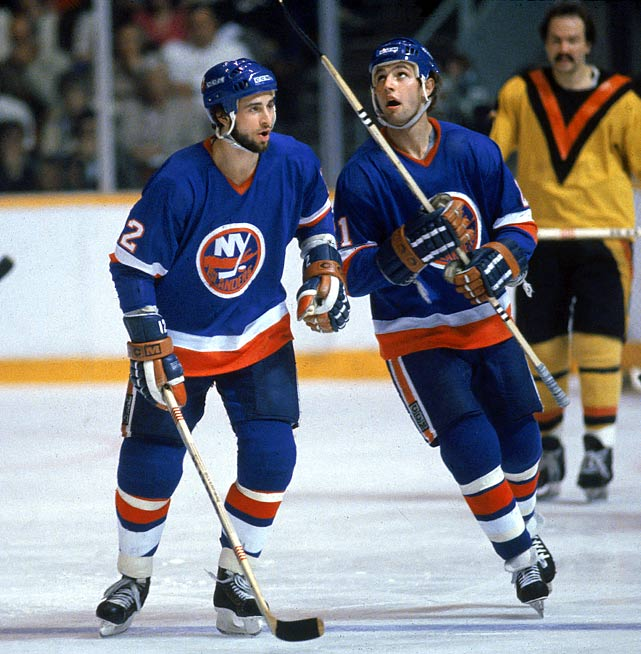 "Two of six Sutters to play in the NHL, Duane (who was nicknamed ""Dog"" for his yapping) and younger brother Brent (""Pup"") were both first-round picks, hard-nosed workers and key contributors to the Isles' four Stanley Cup championship teams. Brent, who spent 17 seasons in the NHL, led Brian, Darryl, Duane, Rich and Ron in career goals, with 303. (A seventh brother, Gary, is said to have been the most talented, but he opted not to pursue a hockey career.)"