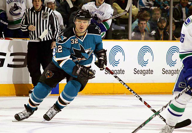 One of the NHL's most infamous pests, Lemieux enjoyed a brief comeback with the San Jose Sharks in 2009 at age 43 -- nearly six years after his retirement. A four-time Stanley Cup champion and 1995 playoff MVP who played for five NHL teams over the course of 20 seasons, Lemieux spent eight weeks in the AHL before taking the ice with the Sharks. He played in 18 games, and scored one point, before retiring again after the season.