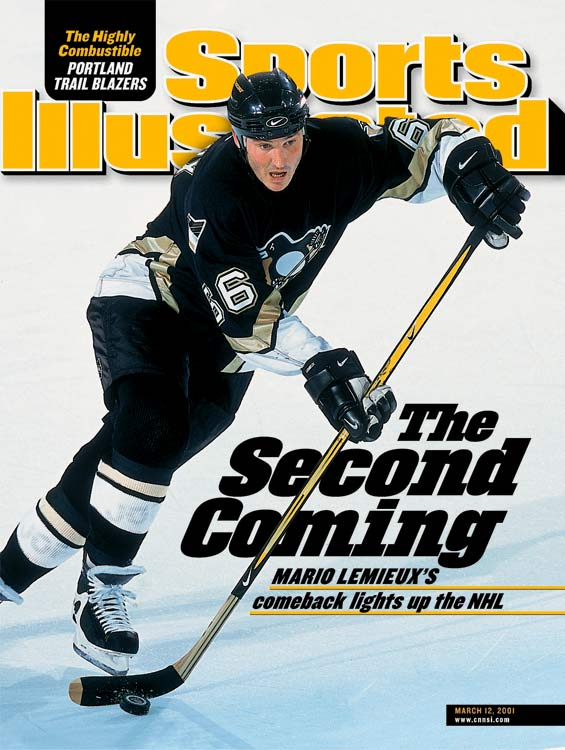 Back problems and a battle with Hodgkin's disease forced him to retire in 1997, and he took a position in the Penguins' front office for three seasons before returning to the ice in 2000 at nearly 35 years old. By then, Lemieux was also the primary owner of the Penguins, and he continued to play for parts five seasons (his best was a 28-goal, 91-point campaign in 2002-03) until his final retirement in '06.