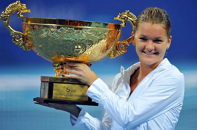 def. Andrea Petkovic 7-5, 0-6, 6-4 WTA Premier, Hard (Outdoor), $4,500,000 Beijing