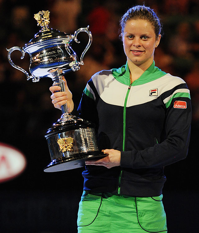 def. Li Na, 3-6, 6-3, 6-3 Grand Slam, Hard (Outdoor), $9,264,098 Melbourne, Australia